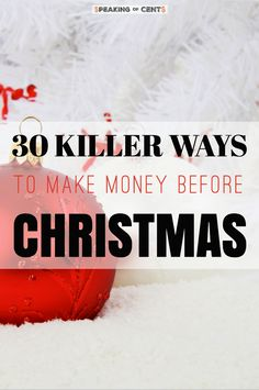 Its always good to have some extra money before the festive season is here. A awesome list of ideas of how you can make few extra bucks right now and make the Christmas time truly The Most Wonderful Time of the Year! Legitimate Work From Home, Work From Home Jobs, Make Money From Home, Make Money Online, Ways To Save Money, Money Tips, Money Saving Tips, How To Make Money, Thing 1
