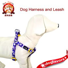 Purple Daisy Flower Print Adjustable Pet Leashes and Harnesses, Free Shipment