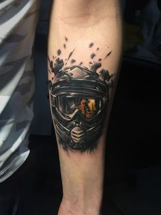 motocross helmet tattoo, tatuaj , auto Helmet motocross Tattoo  tatuaj