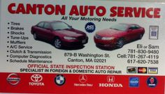 auto body shop canton ma