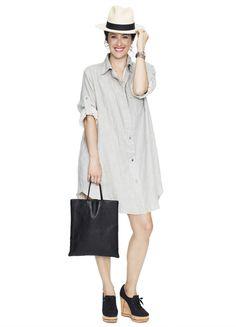 The Boyfriend Dress | Hatch Collection