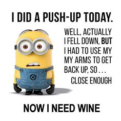 I did 50 push-ups!!!