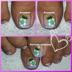 Toe Nail Designs, Toe Nails, Pedicure, Nail Art, Veronica, Diana, Instagram, Feet Nails, Nice Nails