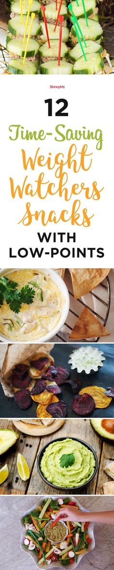 12 Time-Saving Weight Watchers Snacks With Low-Points #ww #weightwatchers #lowpoint #skinnyms