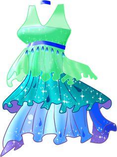 Katherine Enchantix dress by Sky6666.deviantart.com on @DeviantArt