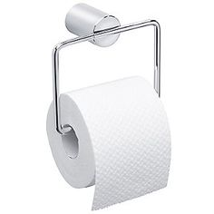 Love the clean lines of this DUO Hanging Toilet Paper Holder by Blomus