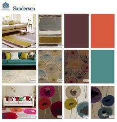 Sanderson's rug collection by Surya draws on the creativity of young, contemporary designers and creates innovative, directional designs for modern living.