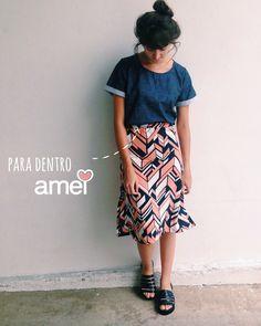 Sinta-se bem❤️ #lojaamei #muitoamor #etiquetaamei #saia #blusa #novidades #moda #melissa
