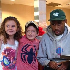 Tyler, The Creator and kids