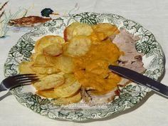 #Solomillo con #salsa de #zanahoria - Pork #tenderloin with #carrot #sauce