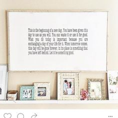 One of my favorite quotes to one of my favorite Instagram shops to follow @sleepinglakedesigns  she trusted me to be the first person to order from me once I opened my etsy shop. I love this sign in her space! de mydeerlingmade