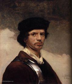 Carel Fabritius - zelfportret