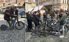 Praha 1 chce zakázat kola a koloběžky v pěších zónách. Co na to provozovatelé půjčoven?