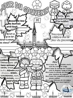 REMEMBRANCE DAY FRENCH POSTER & VOCAB (Jour du Souvenir) Remembrance Day Posters, French Teacher, French Immersion, More Followers, Recital, Kindergarten, How To Become, Encouragement, Classroom