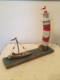 Driftwood Art Driftwood Sculpture Nautical by RichardMakinsCARVNwA