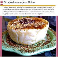 Semifreddo cu cafea | Dieta Dukan