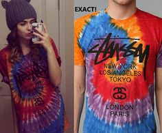 Acacia's Stussy tee is from Urban Outfitters here!