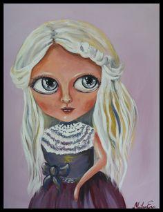 Το κορίτσι με το φιόγκο στο φουστάνι.
