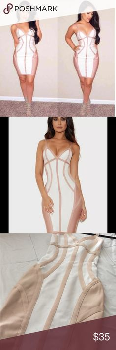 Bodycon bandage dress Bodycon bandage dress white and nude bandage dress 3rd and fourth pics are true colors of Dress house of cb Dresses Midi