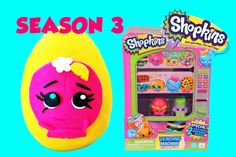 Toy Box Magic presents: A fun Shopkins video for children! A Giant Play Doh egg filled with Shopkins Season 3 goodies (given to one lucky fan) and a cool Shopkins Vending Machine playset which contains 2 special exclusive shopkins! What a fun video. https://youtu.be/GxWwog83c8Y