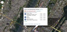 Google Maps adds real-time transit data in New York, Salt Lake City