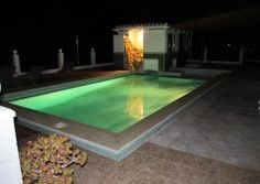 Swimming Pool at Night Pool At Night, Swimming Pools, Villa, Adventure, Outdoor Decor, House, Life, Things To Sell, Swiming Pool