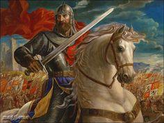 """Rodrigo Diaz de Vivar """"El Cid"""": The name El Cid is Moorish, it means """"The Lord"""""""