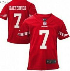 Colin Kaepernick San Francisco 49ers Nike Preschool Game Jersey – Scarlet 811723f5a