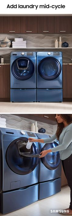 Just when you thought laundry was in the bag, a stray pair of underwear turns up. Luckily, AddWash has a tiny door that's perfect for that random sock you found stuck in your jean leg, so you don't have to wait for the next cycle to throw that straggler into the load. It's a washer for the rest of us.