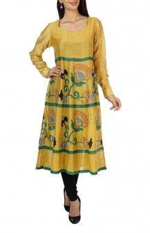 Silk Printed Salwar By Anupama  Rs. 9200
