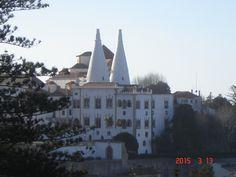 Palácio Vila de Sintra, Portugal.