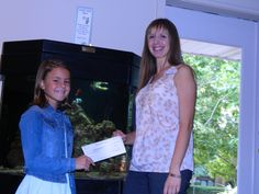 Thank you, Emma Lou for donating your lemonade stand proceeds to the Ronald McDonald House! She raised $500 to help families stay together when it matters most.
