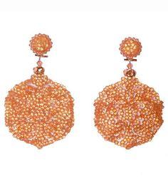 Oorbellen - Earrings - Dublos - www.pearlsandbuttons.nl Crochet Earrings, Drop Earrings, Jewelry, Fashion, Moda, Jewels, Fashion Styles, Schmuck, Drop Earring