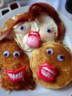 Least appetizing pancakes ever