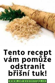 Tento recept vám pomůže odstranit břišní tuk! Food, Diet, Essen, Meals, Yemek, Eten