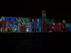 Twice Upon a Time - OCUBO (Portugal) @ Clock Tower, Ebrington Square 120 School Children took part and made this happen