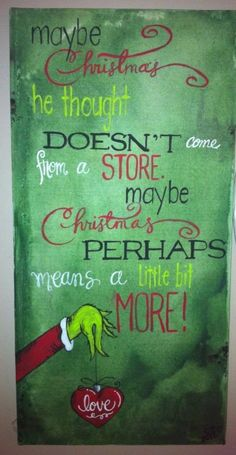 My Grinch art... by Crystal Hastings Fox