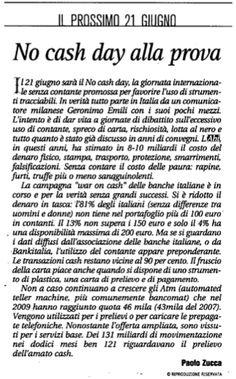 10/01/2011 - Il Sole 24 Ore - No cash day alla prova