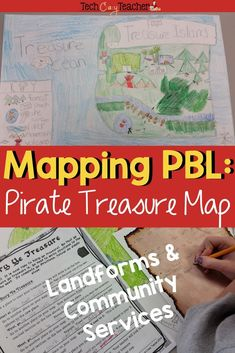 Project Based Learning for mapping skills! Assess your students' map skills while they design an island and bury their treasure! This mapping activity has students use landforms and community services along with basic map skills. Students follow step-by-s Map Activities, Language Activities, Classroom Activities, Learning Activities, Spring Activities, Teaching Ideas, Christmas Activities, Social Studies Classroom, Teaching Social Studies