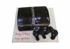 Playstation Birthday Cake
