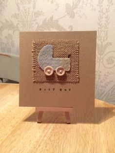 New Baby Card New Baby Boy Card New Baby Gift New by TheWeeLoft