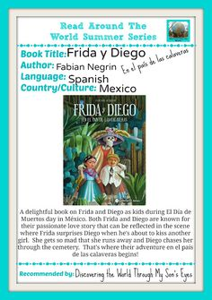 Discovering The World Through My Son's Eyes: Frida y Diego Read Around the World Summer Series