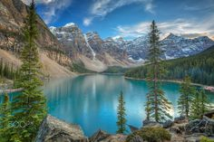 ***Moraine Lake (Banff, Alberta) by Christian Theile