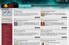 Web design portal de distractie pentru America, India