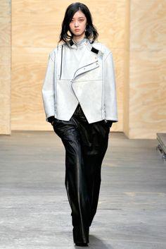 Proenza Schouler RTW A/W 2012/13.  Model - So Young Kang.