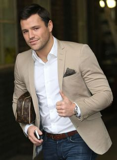 Mark Wright for Christian Grey? Not complaining. Sharp Dressed Man, Well Dressed Men, Classic Men, Look Fashion, Mens Fashion, Mark Wright, Denim And Diamonds, Blazer Outfits, Gentleman Style