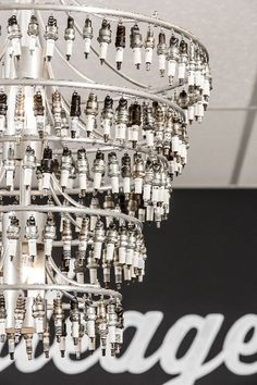 #DIY Chandelier made of spark-plugs! #OZArchitecture