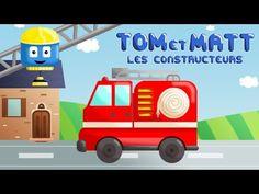 Tom & Matt les constructeurs - Le Camion de Pompier | Jeu d'assemblage pour les enfants - YouTube Assemblage, Wooden Toys, Toms, Family Guy, Van, Animation, Film, Fictional Characters, Firefighters