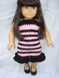 NyanPon's Knits and Crochet: Frilly Sweater Dress