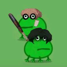 Anime Meme, Funny Anime Pics, Otaku Anime, Peppa Pig, Killing Stalking Memes, Sapo Meme, Look Wallpaper, Amazing Frog, Frog Meme